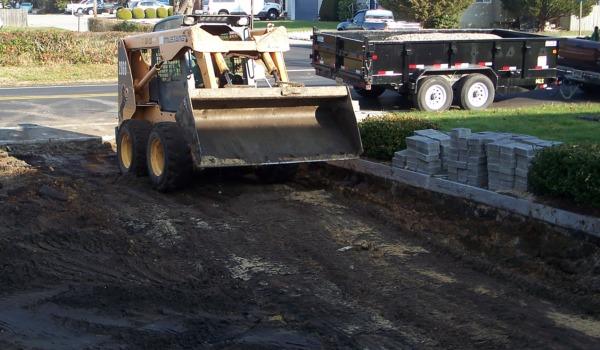 driveway excavation ocean county